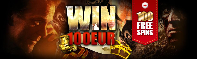 Выиграйте до €100 и 100 бесплатных спинов в слотах от Winmasters